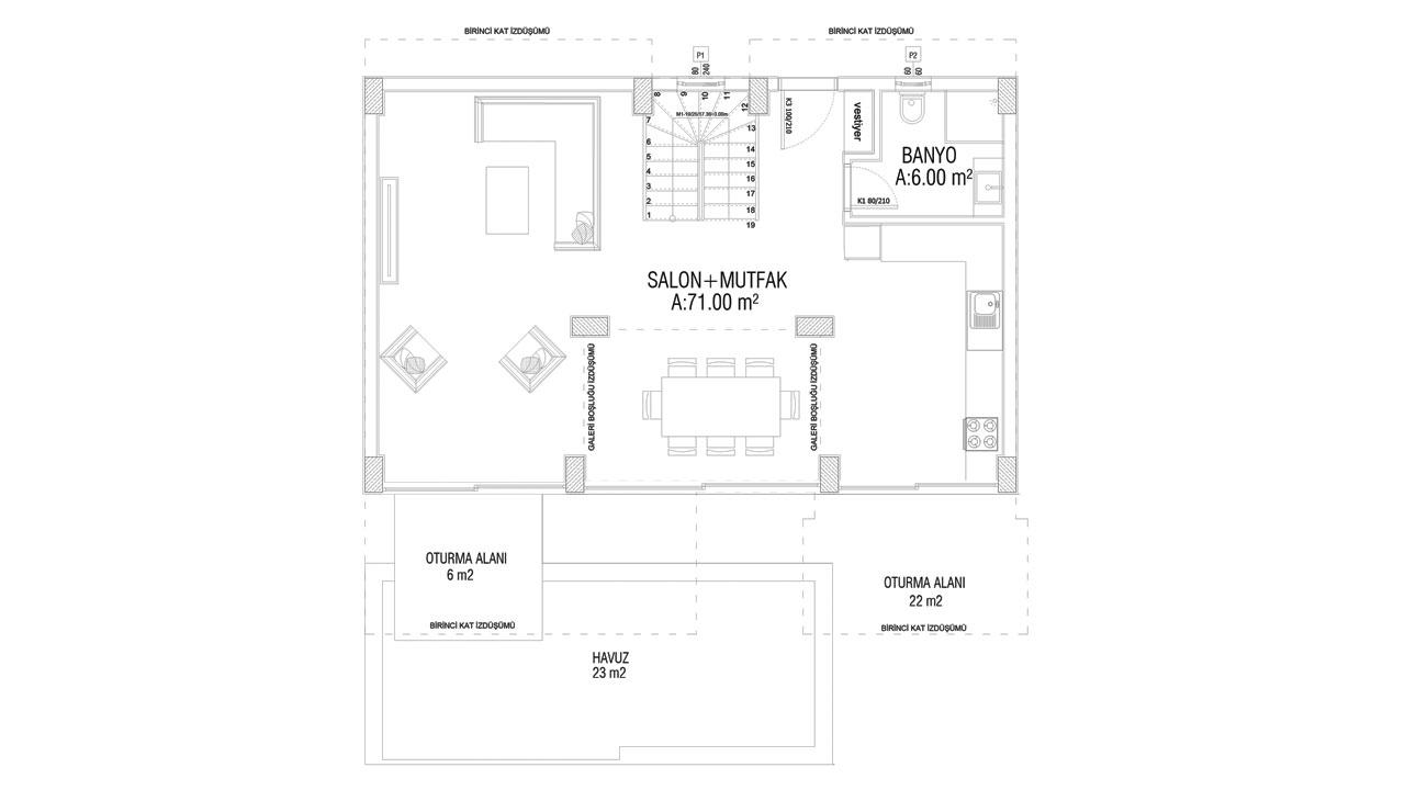 План этажа 0