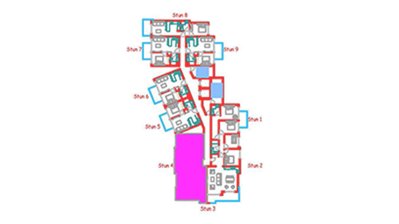 План этажа блок Б