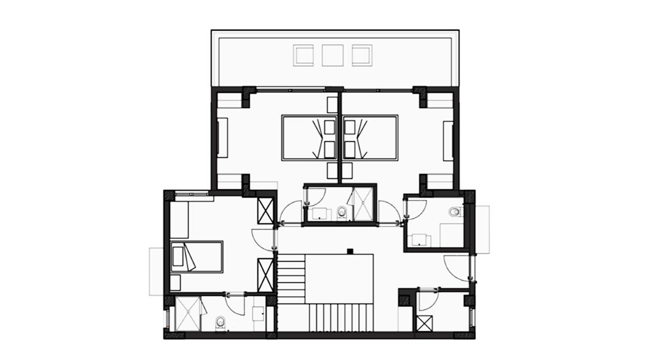 Планировка Вилла А этаж 1